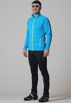 Мужской лыжный костюм NordSki Elite G-TX Blue - фото 15560