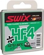 Мазь скольжения SWIX HF4X, (-12-32 C), Green, 40 g