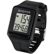 Спортивные часы-пульсометр SIGMA ID.GO Black