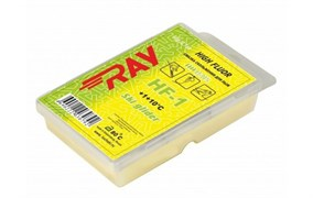 Мазь скольжения RAY High Fluor (+10+1 C), 60 гр