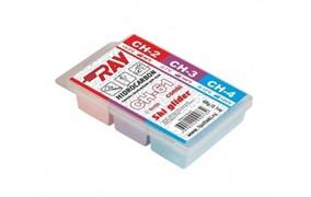 Мазь скольжения RAY Low Fluor COMBI (+3-12 C), 60 гр