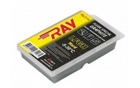 Мазь скольжения RAY Low Fluor с графитом Ghard (-5-30C), 60 гр