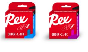 Мазь скольжения REX Racing Gliders, (-1-10 C), Blue, 2 * 43g