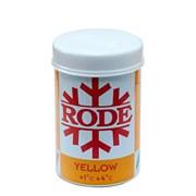 Мазь лыжная RODE, (+4+1 С), Yellow, 45g