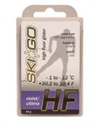 Мазь скольжения SKIGO HF, (-1-12 C), Violet 45 g