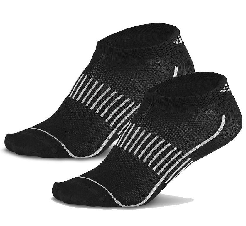 Носки короткие Craft Cool Training Black 2 пары 37-39 Черный 1903429-2999-1