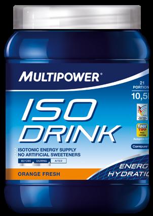 Элитный спортивный изотонический напиток Multipower ISO Drink Апельсин 16921