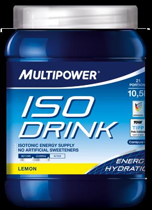 Элитный спортивный изотонический напиток Multipower ISO Drink Лимон 16901