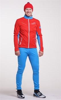 Мужской лыжный костюм Nordski National Red 2018 - фото 11801