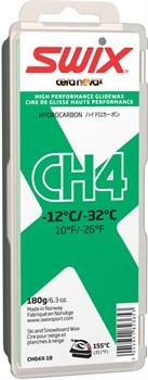 Мазь скольжения SWIX CH4X, (-12-32 C), Green, с крышкой, 180 g - фото 13361