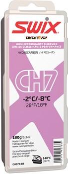 Мазь скольжения SWIX CH7X, (-2-8 C), Violet, с крышкой, 180 g - фото 13369