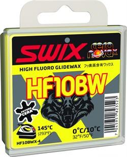 Мазь скольжения SWIX HF10BWX, (+10-0 C), black, 40 g - фото 13374