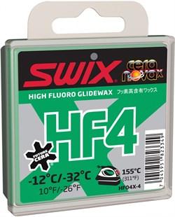 Мазь скольжения SWIX HF4X, (-12-32 C), Green, 40 g - фото 13377