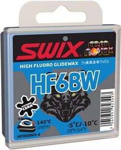 Мазь скольжения SWIX HF6BWX, (-5-10 C), black, 40 g - фото 13381