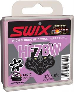 Мазь скольжения SWIX HF7BWX, (-2-8 C), black, 40 g - фото 13383