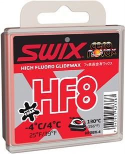 Мазь скольжения SWIX HF8X, (+4-4 C), Red, 40 g - фото 13386