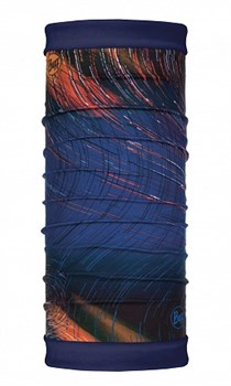 Бандана BUFF REVERSIBLE POLAR IONOSPHERE NIGHT BLUE - фото 15377