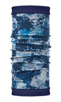 Бандана BUFF REVERSIBLE POLAR WINTER GARDEN BLUE - фото 15379