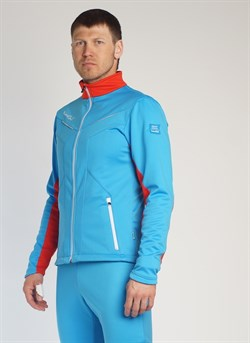 Куртка разминочная NORDSKI National 443790 red/blue - фото 15869