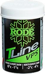 Мазь лыжная RODE TopLine, (0-1 С), 45g - фото 15913