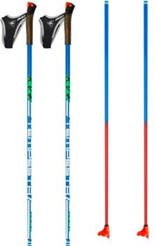 Палки лыжные KV+ TEMPESTA, Clip Blue 90% Carbon 8P007Q - фото 15932
