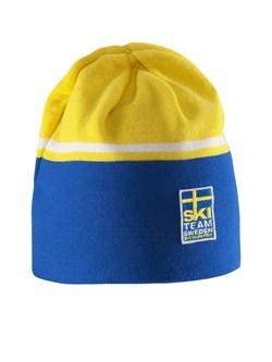 Лыжная шапка Craft с логотипом Sweden Teem - фото 16587