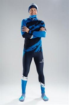 Гоночный костюм NORDSKI Premium Deep Blue - фото 17009