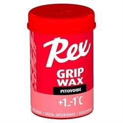 Мазь держания REX Grip waxes, (+1-1 C), Red Super, 45g - фото 17298