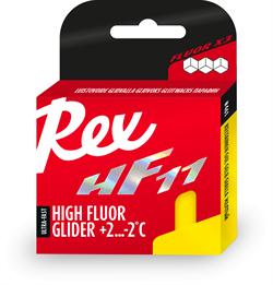 Мазь скольжения REX HF 11, (+2-2 C), Yellow, 40g - фото 17307