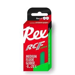 Мазь скольжения REX Racing Fluor Gliders, (-6-12 C), Green, 2*100g - фото 17319