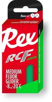 Мазь скольжения REX Racing Fluor Gliders, (-6-12 C), Green, 43g - фото 17320