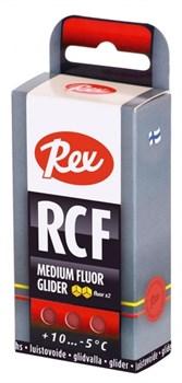 Мазь скольжения REX Racing Fluor Gliders, (+10-5 C), Red, 43g - фото 17322