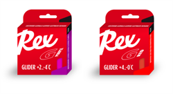 Мазь скольжения REX Racing Gliders, (+10-5 C), Purple/Red, 2 * 43g - фото 17329