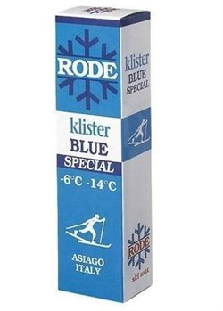 Клистер RODE, (-6-14 C), Blue Special, 60g - фото 17353