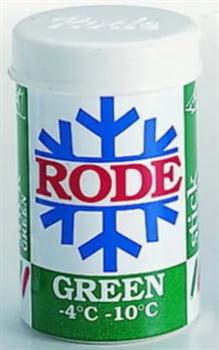 Мазь лыжная RODE, (-4-10 С), Green, 45g - фото 17379