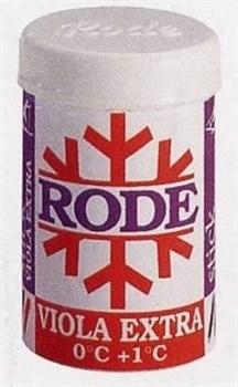 Мазь лыжная RODE, (+1-0 С), Violla Extra, 45g - фото 17380