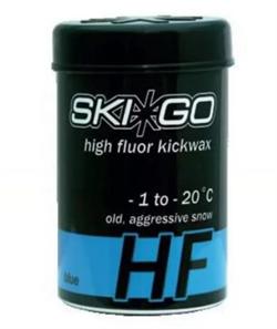 Мазь держания SKIGO HF, (-1-20 C), Blue, 45 g - фото 17396
