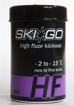 Мазь держания SKIGO HF, (-2-15 C), Violet, 45 g (новый снег) - фото 17397