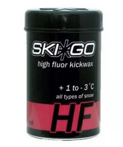 Мазь держания SKIGO HF, (+1-3 C), Red, 45 g - фото 17398