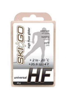 Мазь скольжения SKIGO HF Universal, (+2-20 C), White 45 g - фото 17409