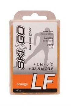 Мазь скольжения SKIGO LF, (+1-5 C), Orange 60 g - фото 17417
