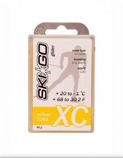 Мазь скольжения SKIGO XC, (+20-1 C), Yellow 60 g - фото 17425