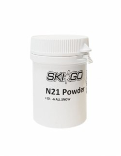 Порошок SKIGO N21, (+6-10 C), White 20 g - фото 17436
