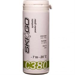 Порошок углеводородный SKIGO C380, (-7-20 C), Green 60 g - фото 17437