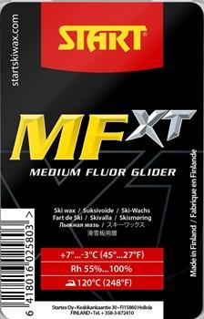 Мазь скольжения START MFXT, (+7-3 C), Red, 180 g - фото 17523