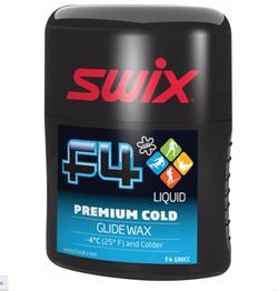 Мазь скольжения SWIX F4 Cold эмульсия (-4 и ниже), 100 ml - фото 17595