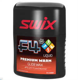 Мазь скольжения SWIX F4 Warm эмульсия (-4 и выше), 100 ml - фото 17596