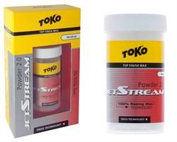 Порошок TOKO Jetstream Powder 2.0, (-2-12 C), красный, 30 g - фото 17614