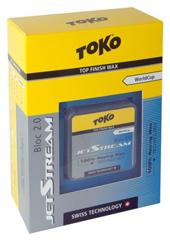 Ускоритель TOKO Jetstream Bloc, (-0-4 C), желтый, 20 g - фото 17617