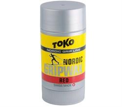Мазь держания TOKO Nordic (-2-10 С), Red 25 g - фото 17620